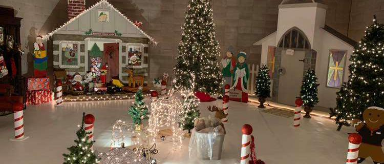 Visit Santa's Workshop Saturday Nov. 10, 2018
