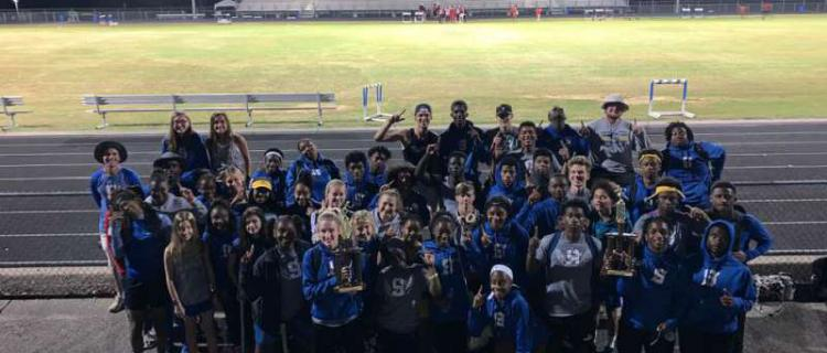 Congratulations! SHS Track.Field on winning District!